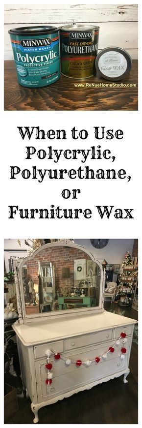 DIY Furniture : When is the best time to use Polycrylic