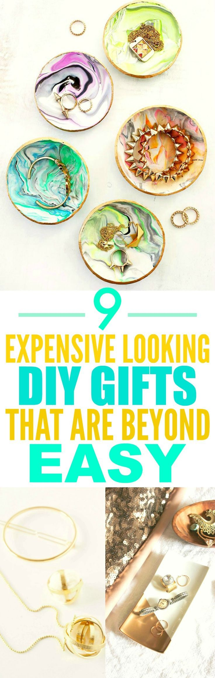 These 9 Expensive Looking DIY gifts are THE BEST! I'm so glad I found these ...