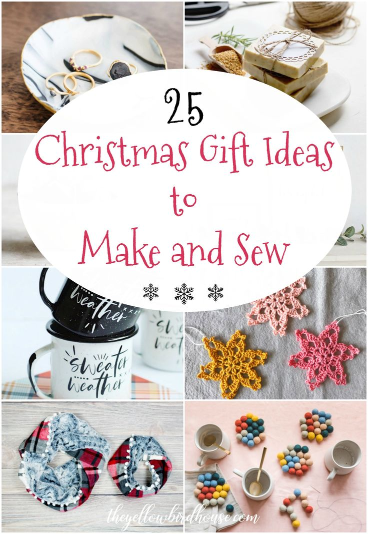 25 amazing tutorials and DIYs for handmade Christmas gifts. Treat your loved one...