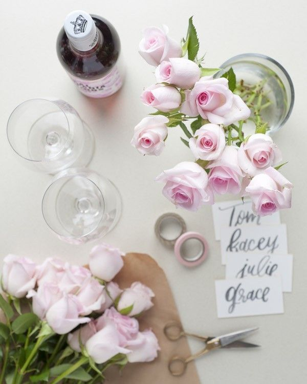 Add a pop of pink to the table with the Angels bouquet from The Bouqs Company. S...