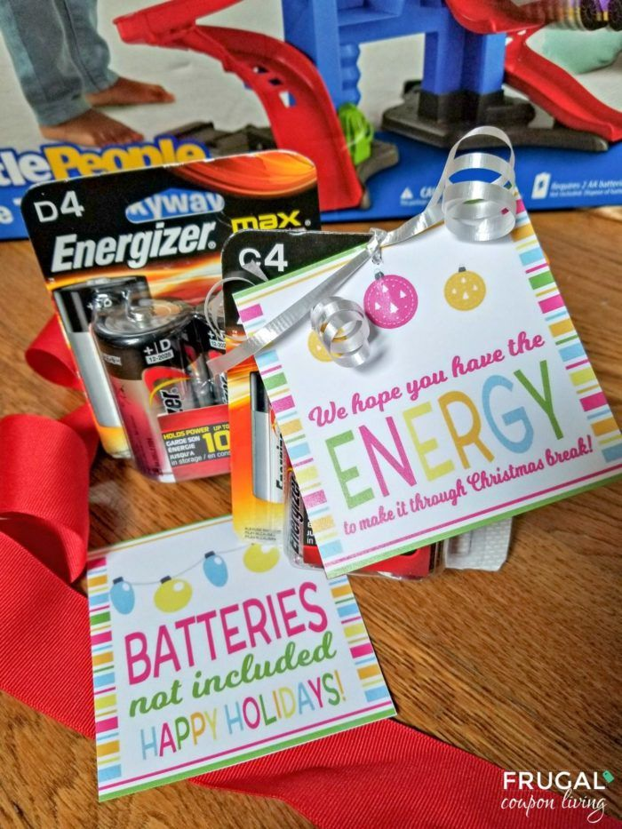 photo relating to Gift Not Included Printable named Do it yourself Crafts : Battery Present Tag. Batteries not Bundled. Cost-free