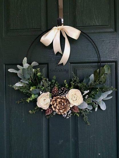 Diy Crafts Christmas Wreath Wreath For Christmas Christmas Decor