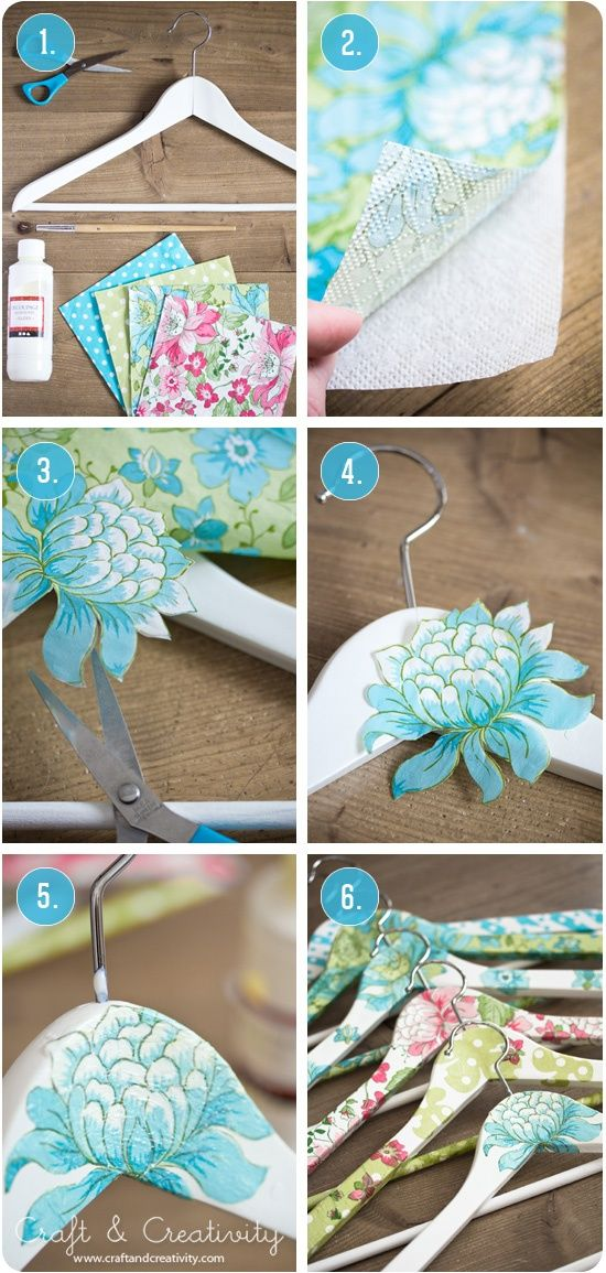 Diy Crafts Diy Decorate Your Own Hangers Diyall Net Home Of