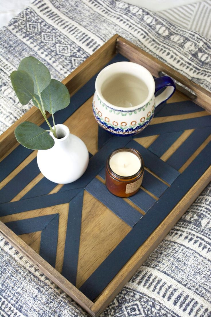 DIY Crafts : DIY serving tray tutorial using BEHR paint - DIYall.net | Home  of DIY & Craft ideas & Inspiration, DIY Projects Craft Ideas & How To's for  Home Decor with Videos