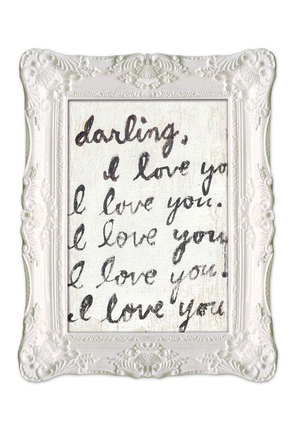 Darling Framed Art Print