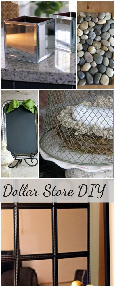 Dollar Store DIY • Tutorials and ideas for DIY decor for the price of a dollar...