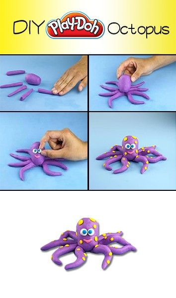 Fire up your imagination and create a DIY Octopus!
