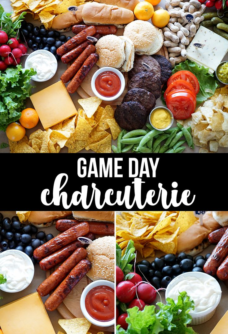 Game Day Charcuterie Board #tailgating #gameday #collegefootball #superbowl #cha...