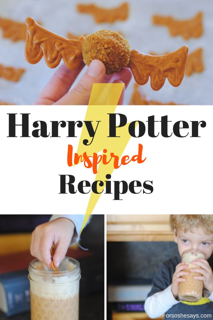 Diy Crafts Harry Potter Inspired Recipes At Www