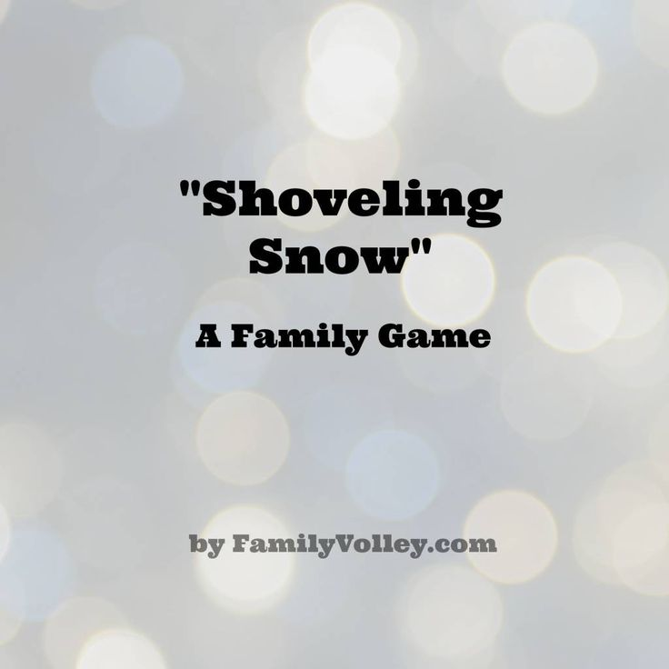 Heather is back this month with a fun family game she calls