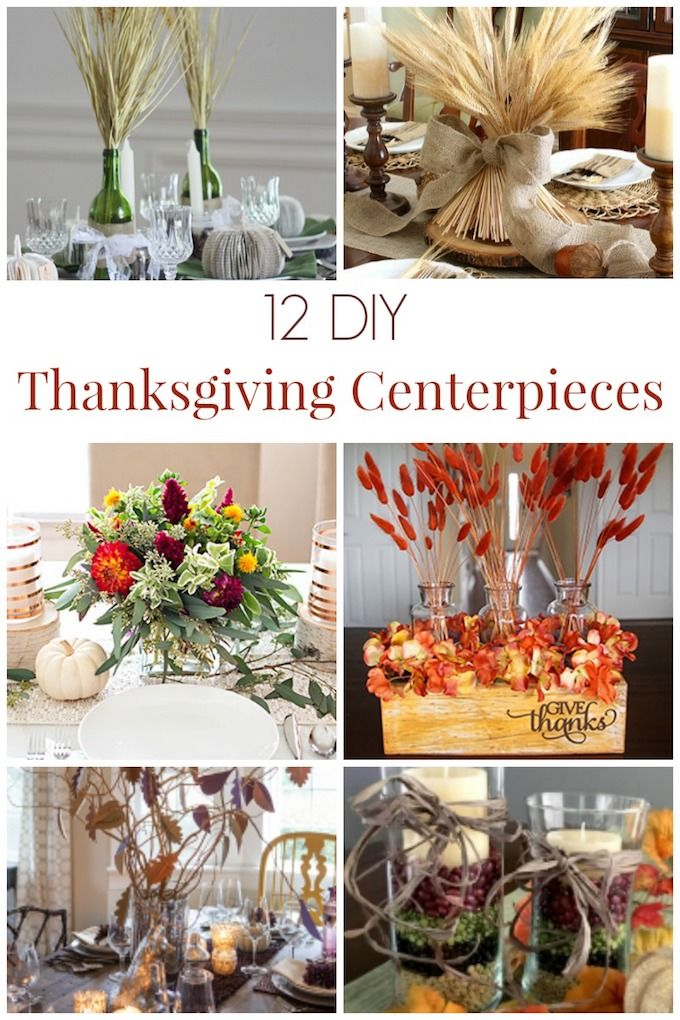 Diy Crafts Here Are 12 Beautiful Diy Thanksgiving Centerpieces