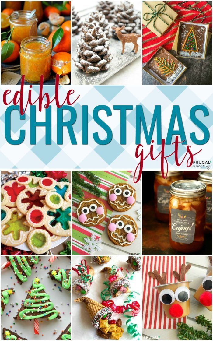 Homemade Edible Christmas Gifts.  Last minute gift ideas that do more than sit ...