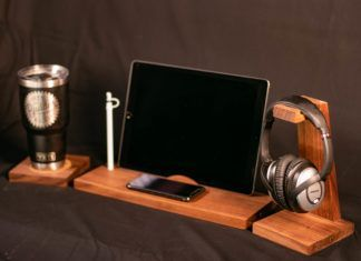 How To Build A High Quality Wireless Charging Desk Organizer