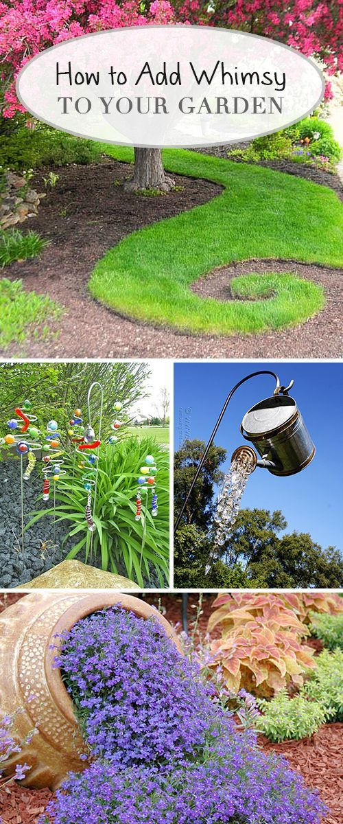 How to Add Whimsy to Your Garden! • Learn how to add whimsy to your garden wit...