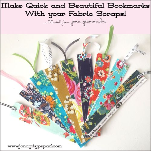 Diy Crafts How To Make Quick And Easy Bookmarks Using Your Fabric