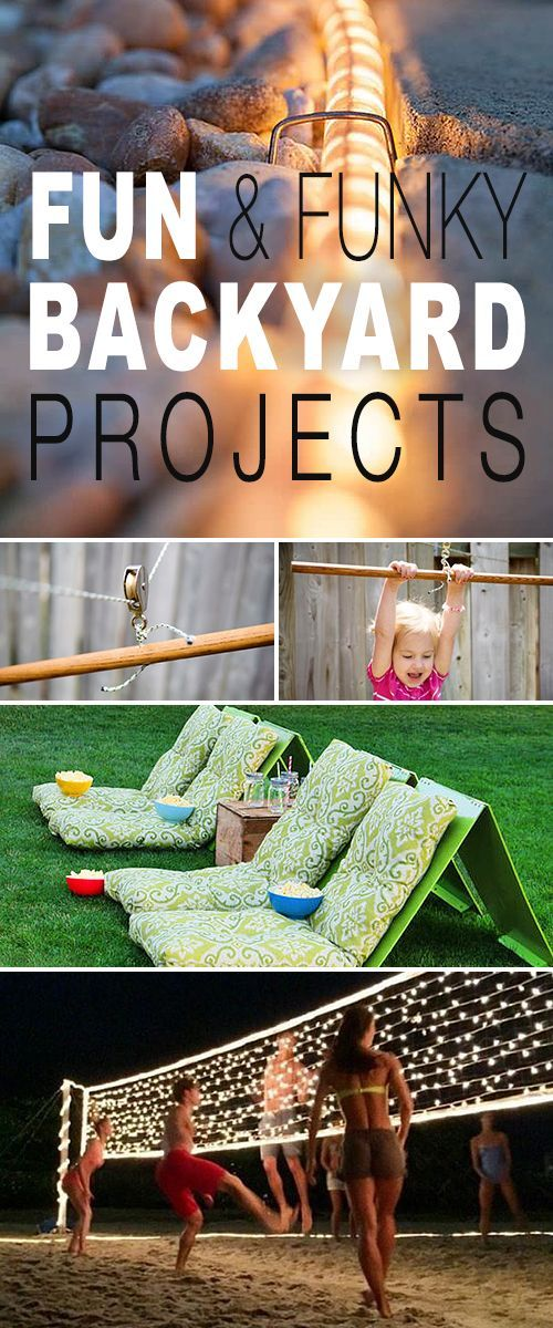 Diy Crafts Lots Of Cool Summer Backyard Projects And Tutorials
