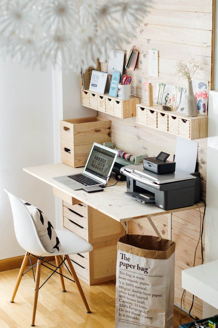 Love these ladies and this fun project with cubby holes. Hello organization.