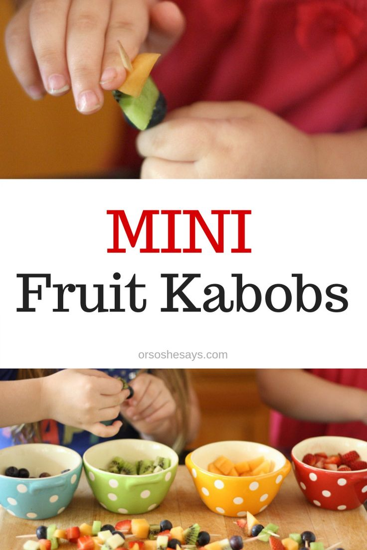 Summer fruit is in season and it is the perfect snack for kids. Get them excited...