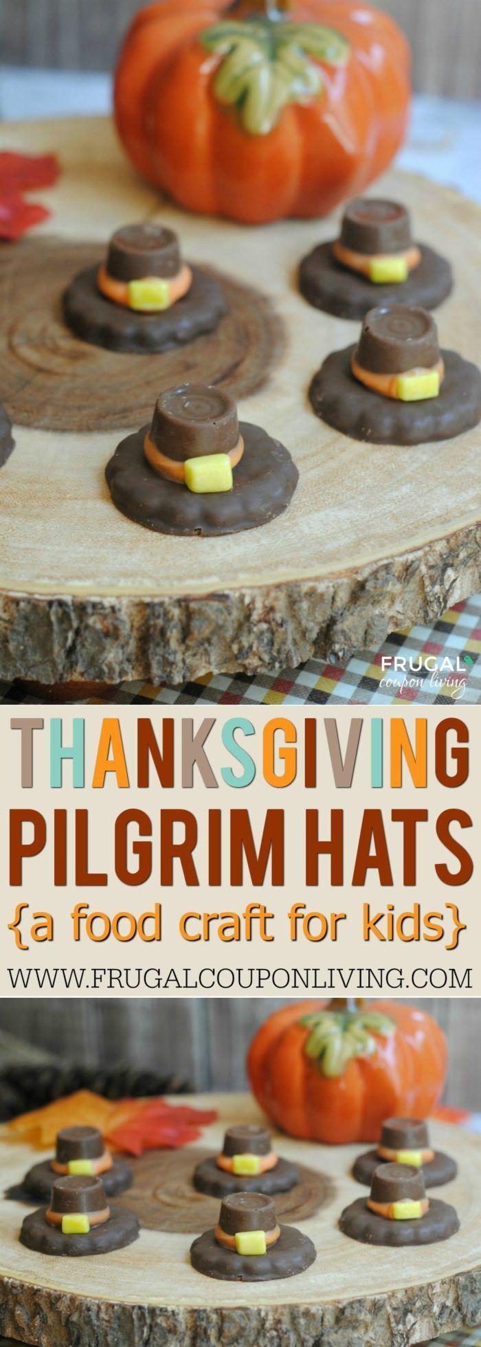 Thanksgiving Pilgrim Hats Cookies for Kids. Kids Food Craft on Frugal Coupon Liv...