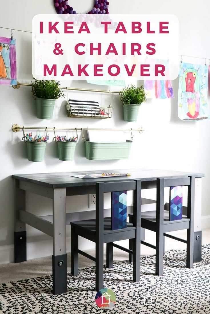 This cheap Ikea Kids' Table Looks Like It Came From a High-End Boutique. An ...