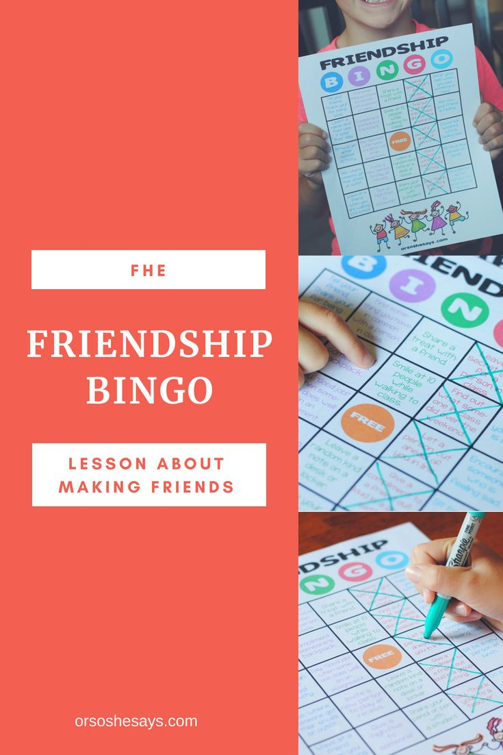 Diy Crafts This Friendship Bingo Game Is A Fun Way To Help Your