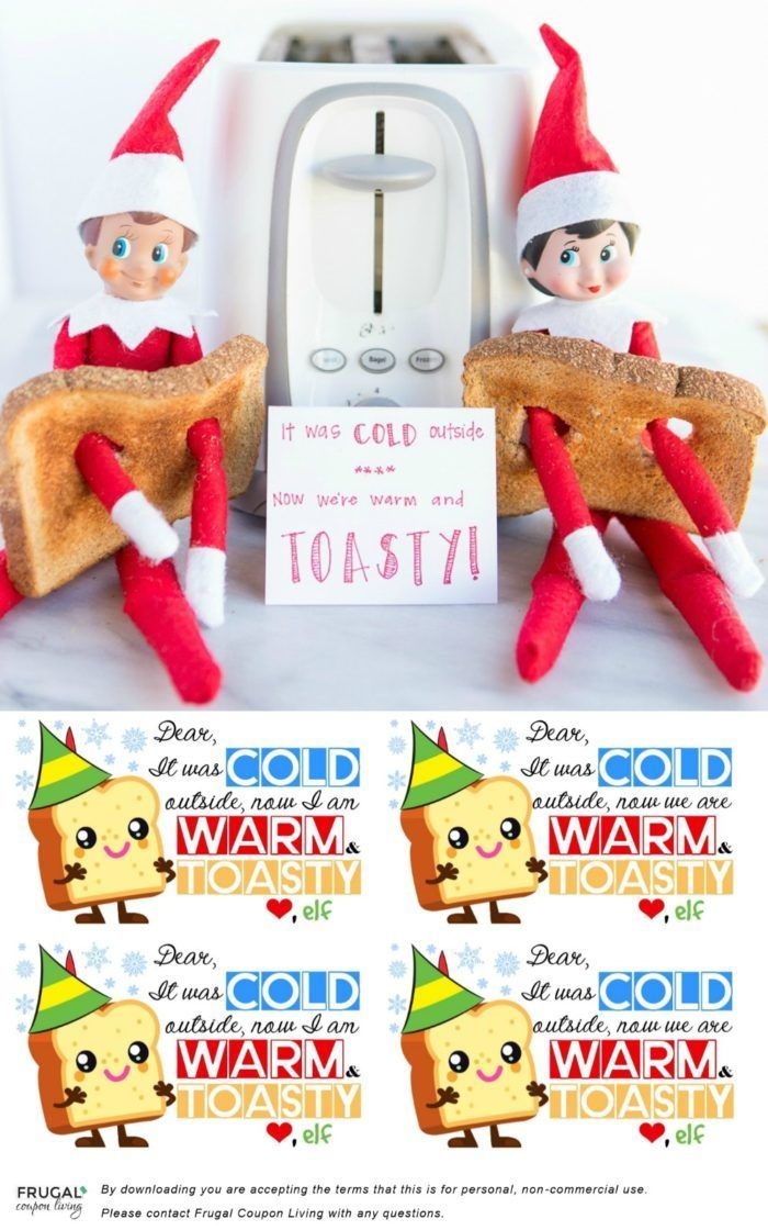 image relating to Free Elf Printable called Do it yourself Crafts : Toasty Elf Elf upon the Shelf Guidelines No cost Elf