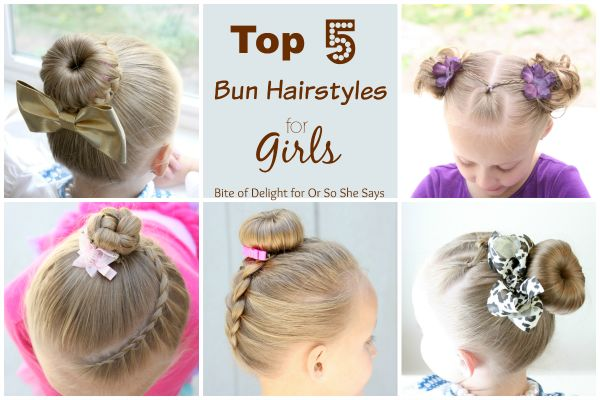 Top 5 Cute Bun Hairstyles for Girls will have you running for your comb and hair...