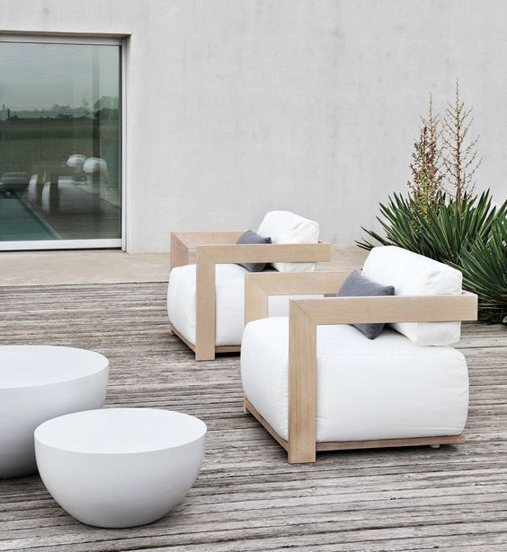 Very stylish wooden garden furniture  | adamchristopherde...