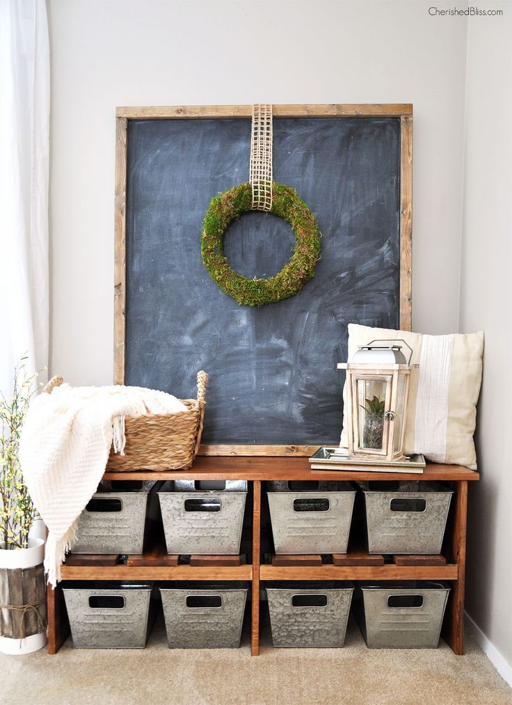With this easy to follow tutorial you can build a DIY Rustic Farmhouse Bench.
