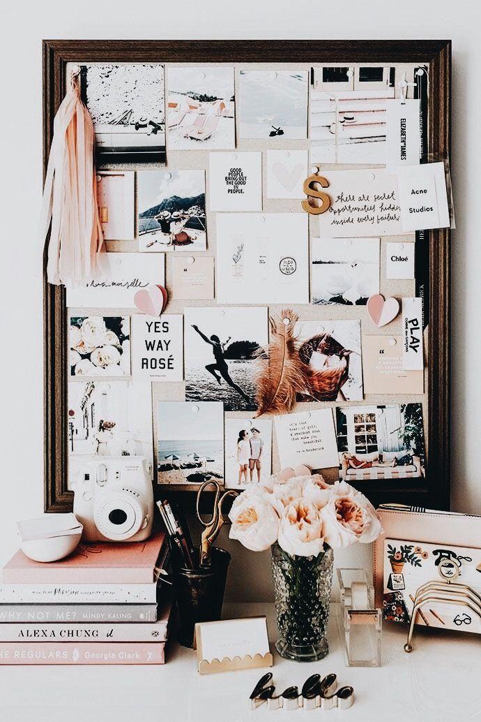 feminine office space #femininebedroomideas