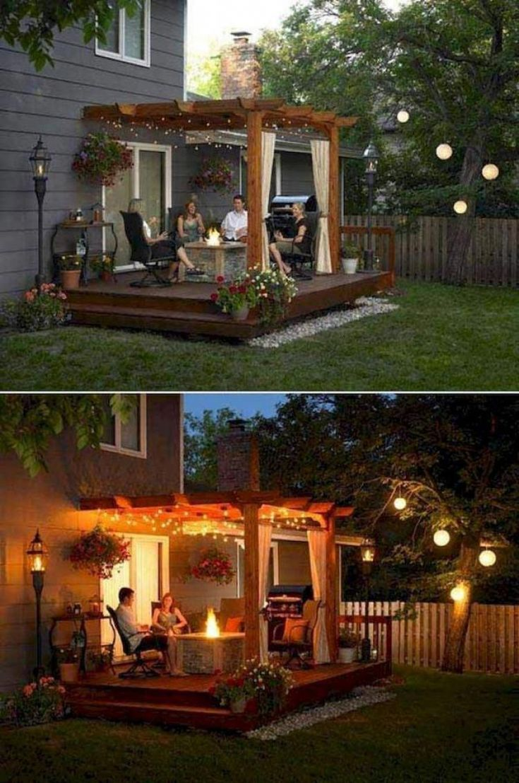 50+ Small Backyard Landscaping Ideas #backyardlandscapingideas