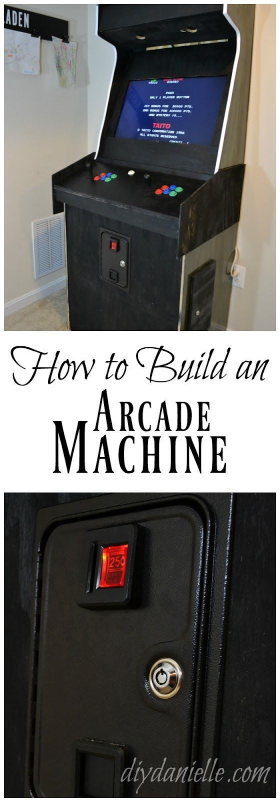 Always wanted a game room? Build an arcade machine and you'll be one step cl...