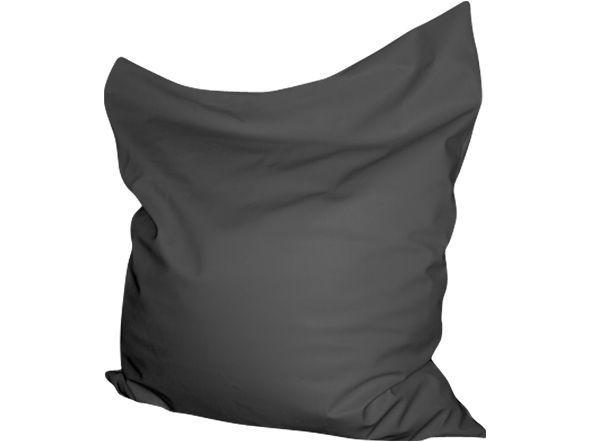Charcoal dark grey king bean bag