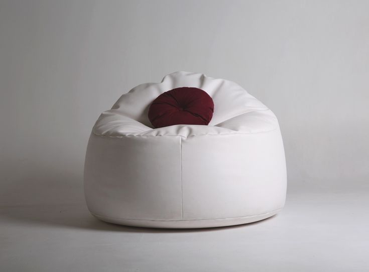 Circular Lounger bean bag. This raised bean bag fits in perfectly in any home, h...