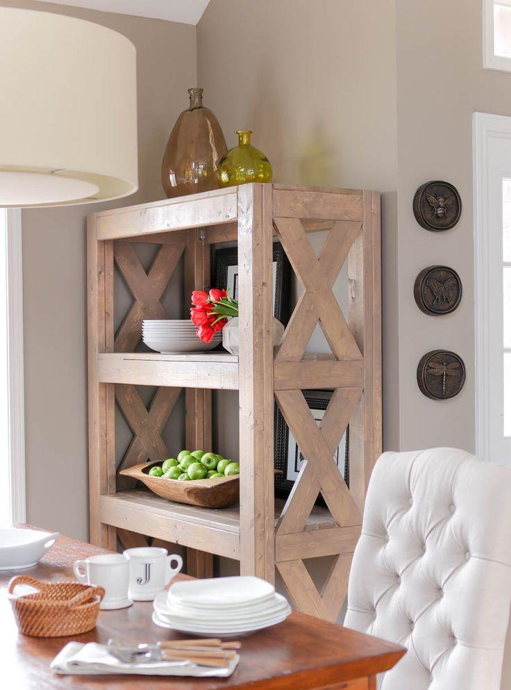 DIY Bookshelf with Simpson Strong