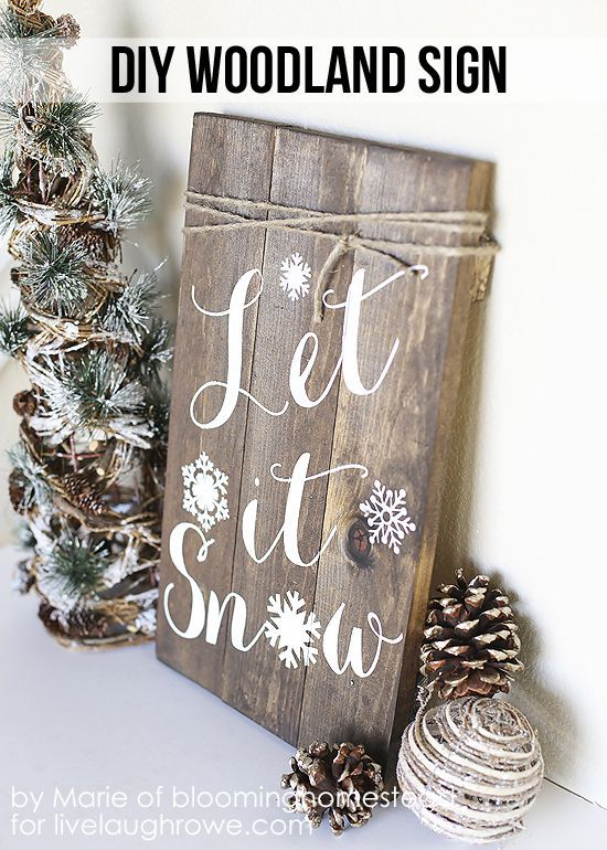 DIY Woodland Sign - WomansDay.com