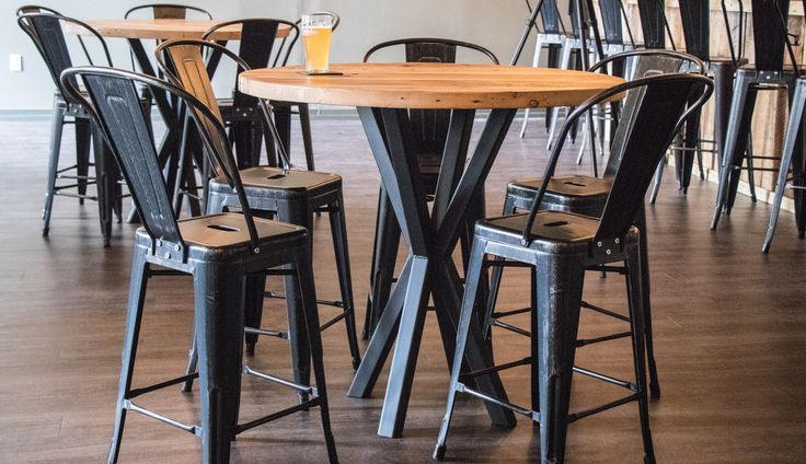 HOW TO BUILD RECLAIMED INDUSTRIAL TABLES. In this video I build 5 custom industr...