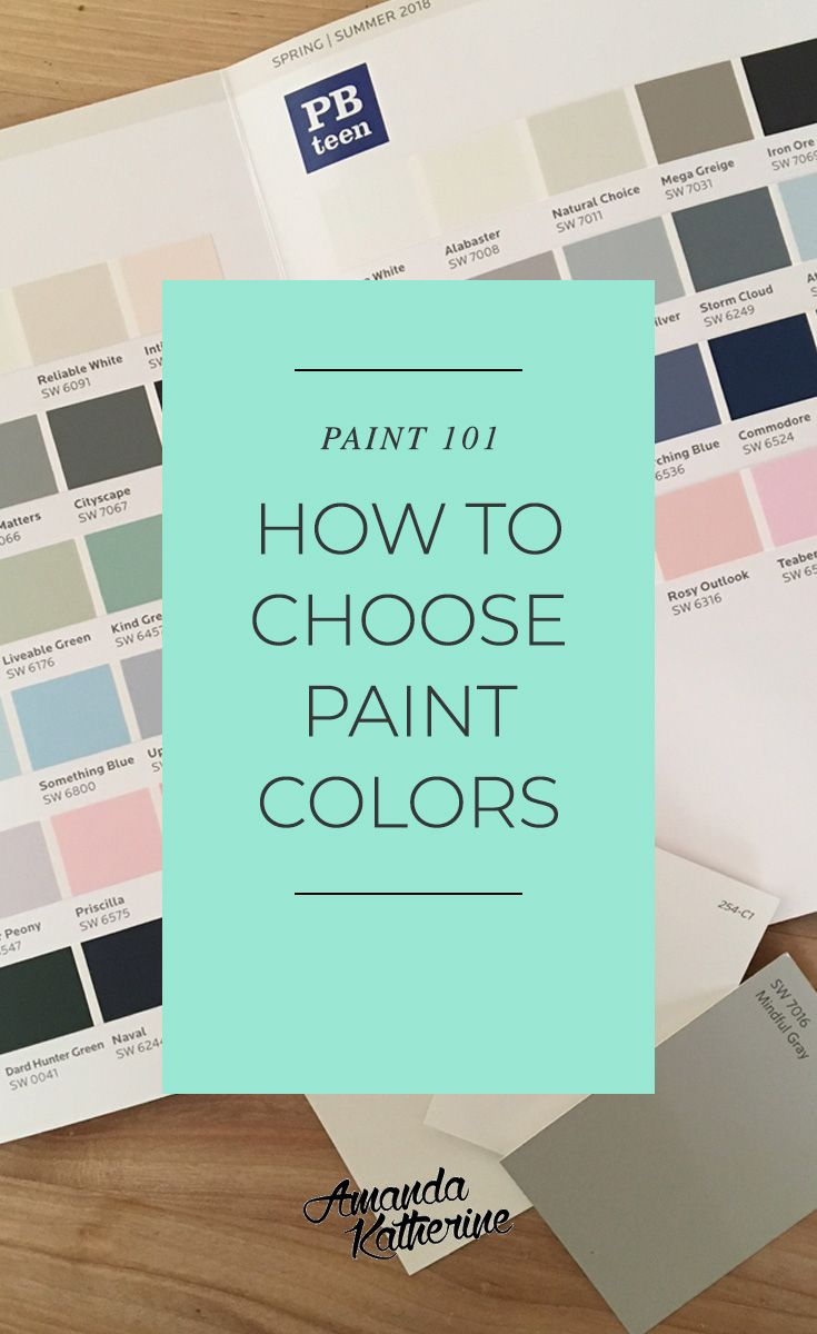 Have you ever stood in front of a paint swatch wall and wondered how on earth yo...