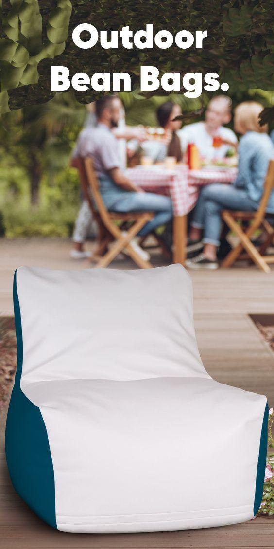 Outdoor Bean Bags!  #circularbeanbags #beanbags #homedecor #indordecor #outdoord...