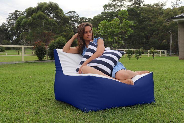 DIY Furniture : Outdoor bean bag sofa. Single version ...