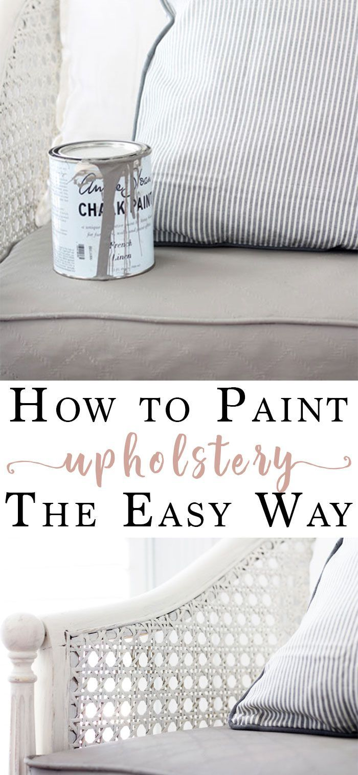 Paint an Upholstered Chair