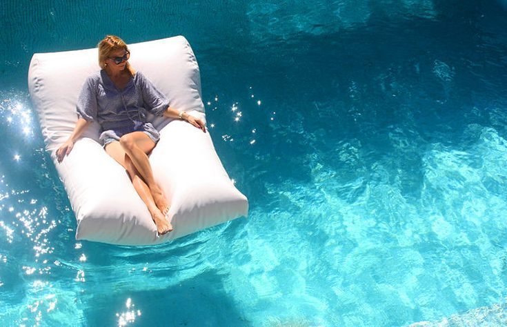 Wondrous Diy Furniture Pool Bean Bag Double Size Shown Here Caraccident5 Cool Chair Designs And Ideas Caraccident5Info