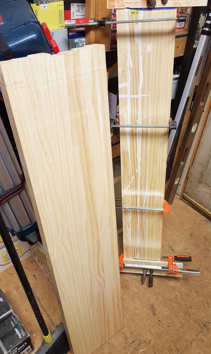 Tips for Edge Gluing Wood Boards Together #diy #woodworking
