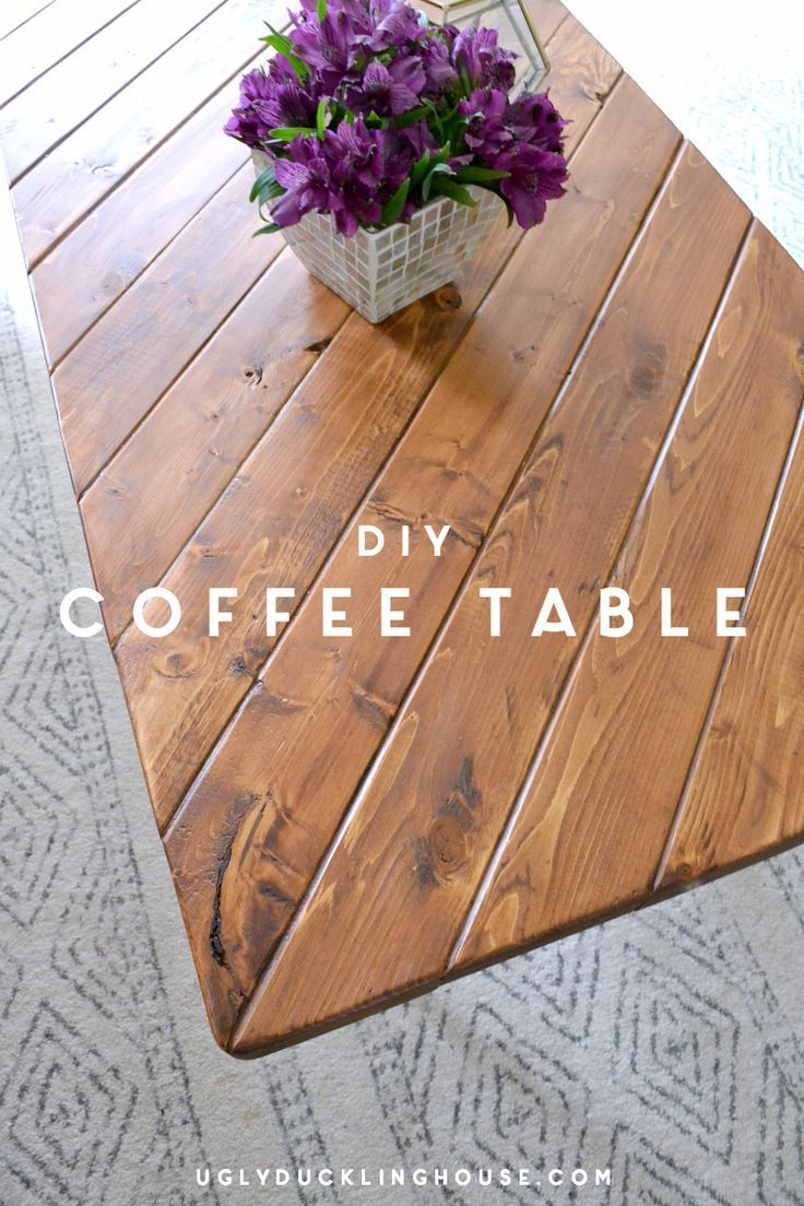 Uses scrap wood - cut all the pieces in as little as 15 minutes - easy DIY coffe...