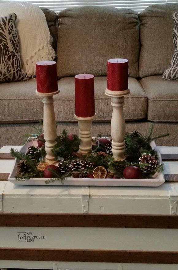 scrap pile diy candlesticks. These fun candlesticks were made from random bed po...