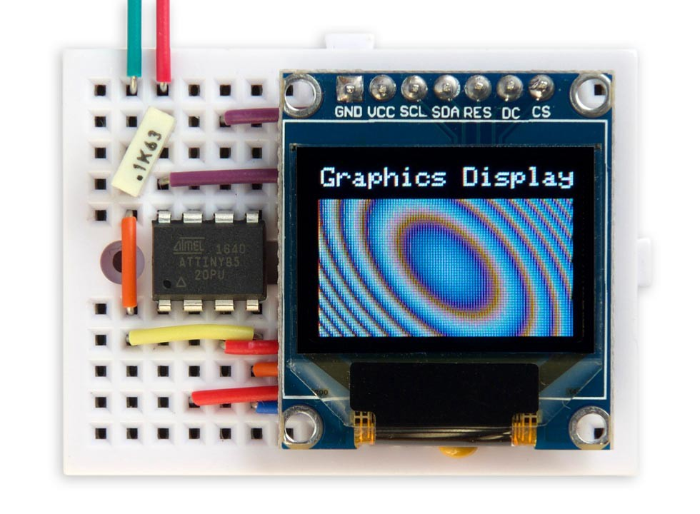 DIY : A Blazing Fast Graphics Library for Your SPI Color
