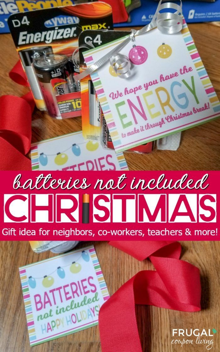 Diy Crafts Battery Gift Tag Batteries Not Included Free