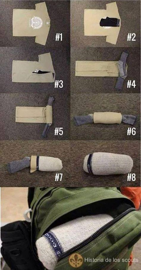 21. Save space while traveling
