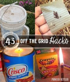 45 Off The Grid Hacks | Homesteading Tips, Tricks, And Ideas