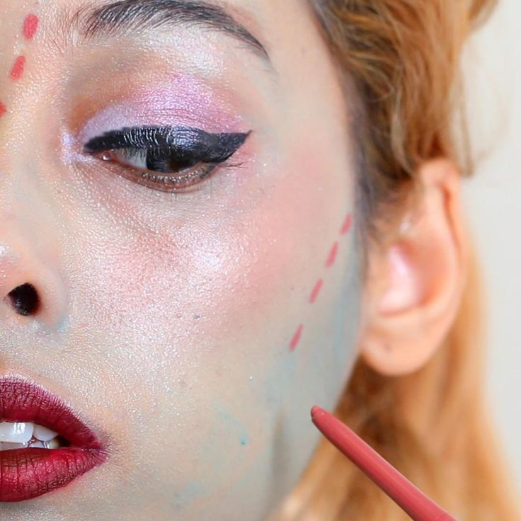 Halloween Ideas Using Make Up You Already Own